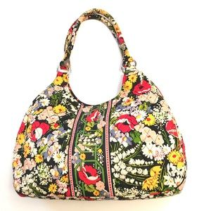 Vera Bradley Large Hobo Bag Floral